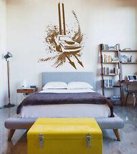 ik914 Wall Decal Sticker hot rod retro powerful American cars room bedroom