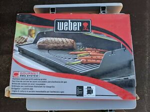 New Weber 7586 Gourmet Barbeque System Spirit 300 Series Stainless Steel Grates