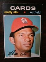 1971 Topps Set Break #720 Matty Alou CARDS FREE SHIPPING