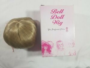 Bell Ceramics Doll Wig Sabrina Platinum Blonde Size: 11-12 #6279 NIB