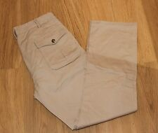 """RARE to UK  """" ENGINEERED GARMENTS """" SAND COTTON TROUSERS, 34W 33L Made in NYC"""