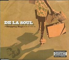 DE LA SOUL Grind Date ACAPELLA & INSTRUMENTAL / Shopping Bags CD single SEALED