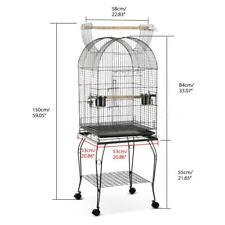53x53x139cm Bird Pet Cage Large Play Top Parrot Finch Cage Macaw Cockatoo R3C5