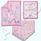 Child of Mine: Princess 3pc Crib Set by Carter's