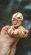 Custom painted resident evil nemesis bust head and shoulder for 12 inch figure
