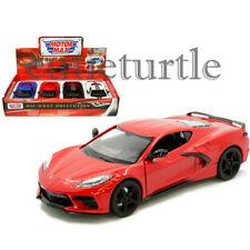 Motormax 2020 Chevrolet Corvette C8 Stingray 1:24 Display Diecast Car 79360 D