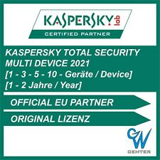 Kaspersky Total Security 2020 / 2021 [1 PC | 3 PC | 5 PC | 10 PC | 1 - 2 JAHRE]