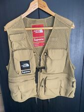 IN HAND Supreme The North Face TNF Cargo Vest GOLD / YELLOW Size Medium NEW SS20