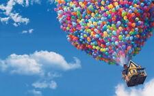 "004 UP - Pixar Cane Frederiskson Cartoon Movie 38""x24"" Poster"