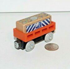 Thomas & Friends Wooden Railway Train Tank BMQ Mining Supply Car w/ Cargo - EUC