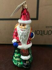 Vintage Christopher Radko Santa Swift ornament 97-276-0