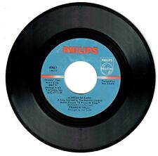 Frankie Valli 1970 Philips 45rpm A Dream Of Kings b/w You've Got Your Troubles