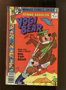 YOGI BEAR #8 (5.0) BIG TOP BEAR 1979