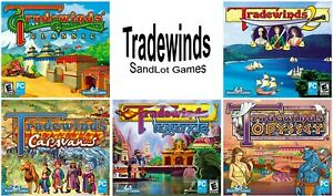 Tradewinds Strategy Role Playing Games PC Windows XP Vista 7 8 10 Sealed New