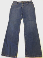 Style & Co Petite Womens Size 4P Straight Leg Stretch Jeans Excellent Condition
