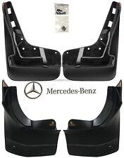 Mercedes-Benz OEM Mud Flaps Splash Guards 2013-2016 GL-Class X166 Set of 4 WO/RB