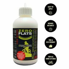 ZEROFLATS Anti-puncture Sealant-250ml for Bicycle Tires| Standard, Tubeless Tire
