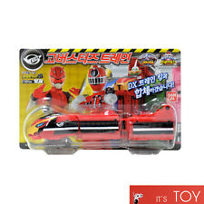 Power Rangers ToQger Tokkyuger EX Go Busters Ressha Train Set Red Sentai Bandai