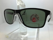 AUTHENTIC RAYBAN  RB 4234 601/9A  BLACK/GREEN POLARIZED LENS 58MM