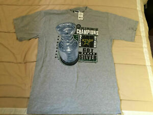 Dallas Stars 2000 Stanley Cup Champions (Losing Team) T-Shirt - Size Large