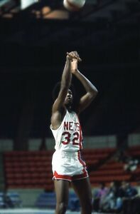 Julius Erving 1973 New Jersey Nets ABA Photo Original 35mm Color Negative
