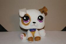 LITTLEST PET SHOP Plush BOXER Stuffed Dog Show Character Doll Toys White 9""