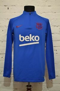 Sweatshirt Nike Barcelona Dry Strike Dril Top Mens M Training Pre Match Jacket