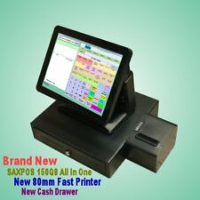 SAXPOS S6001 NEW Touchscreen POS (Point of Sale) System with Customer Display