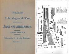 Remington c1890 Arms and Ammunition
