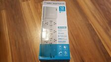 BELKIN SURGE PROTECTOR 12 OUTLETS SLIM DESIGN 8 FOOT CORD RUSH SHIPPING FREE SHI