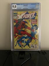 X-FORCE #11, 1st Full Appearance of Neena Thurman as Domino CGC 9.0
