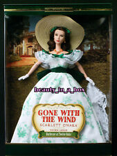 """Scarlett O'Hara Barbie Doll Gone with the Wind Timeless Treasures Barbeque BBQ """""""