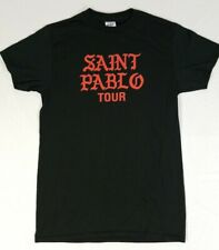 Saint Pablo Tour 2016 Concert Shirt Kanye Yeezus Adult Size S Hip Hop Rap Tee