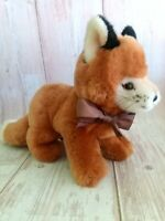 Vintage Steiff Drolly Red Fox Plush Mohair 081378