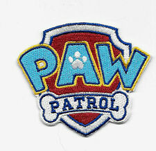 Paw Patrol Patch (3 Inch) Embroidered Iron/Sew On Badge Applique Souvenir Emblem