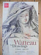 Original RA Poster Watteau 2011