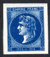"""ESSAI ancien CINDERILLA """" EMPIRE FRANC 1804 1814 """" BLEU  SANS DÉFAUTS !"""