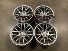"""19"""" Strom M359 DEEP CONCAVE Wheels Quartz Silver BMW E90 E91 E92 E93 3 Series"""