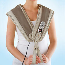 Carepeutic Deluxe Wrap Neck Massager with Heat Therapy Shoulder Back Relief