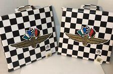 Indianapolis Motor Speedway Black-White Checker Seat Cushion-Indy 500-Brickyard