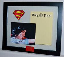 Margot Kidder Lois Lane Superman Prop Daily Planet  Autograph Christopher Reeve