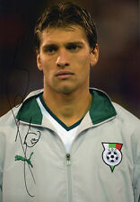 Stiliyan Petrov, Bulgaria, Celtic, CSKA, Aston Villa, signed 12x8 photo. COA.