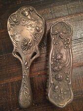 Vintage Art Nouveau Brush Set Amazing