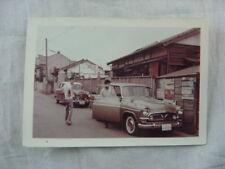 Vintage Car Photo 1957 Toyota Toyopet & 1950s Nissan Austin 815