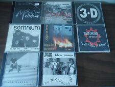 CD Lot of 8 ROCK and ALTERNATIVE CD's Blue Room SOMNIUM Three Deep DOGS OF WAR