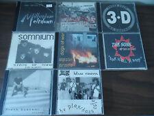 CD Lot of 8 ROCK and ALTERNATIVE CD's Blue Room SOMNIUM Three Deep DOGS OF WAR