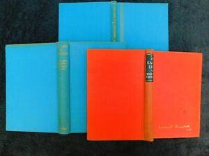 WINSTON CHURCHILL - SET OF 3 HISTORY BOOKS. SPEECHES, MAPS, BIOGRAPHY  1950s