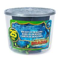 HOW TO TRAIN YOUR DRAGON BUCKET OF DRAGONS 25 FIGURE PLAY SET
