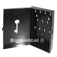 IKEA Pryttlar Key storage cabinet box holder BLACK Brand New