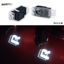 LED Door Light Bulb R LINE 3D Laser Welcome Courtesy OSRAM HD For PASSAT B5 B5.5